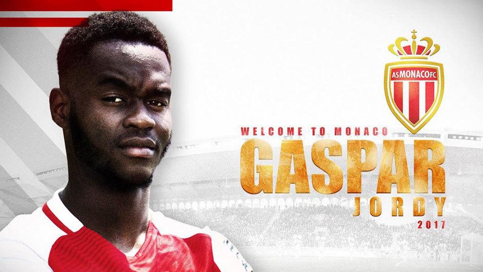 El anuncio del fichaje de Gaspar por el Mónaco