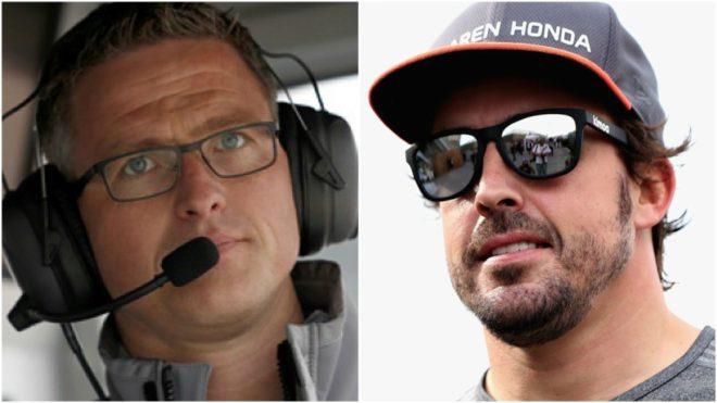 Ralf Schumacher y Fernando Alonso.