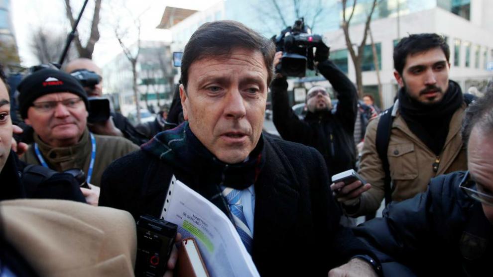 Eufemiano Fuentes, durante el juicio de la Operación Puerto
