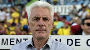 Hugo Broos (65), seleccionador de Camerún.