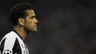 Dani Alves, con la Juventus.