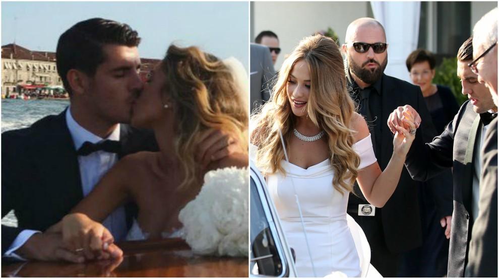 Las bodas de Morata y Kovacic.