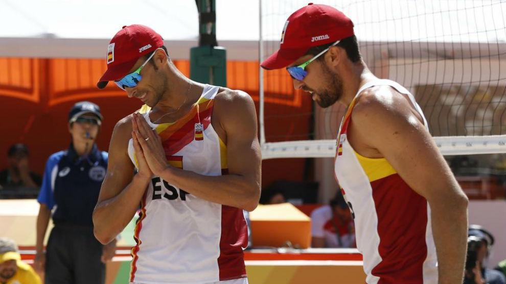 Pablo Herrera y Adrián Gavira compiten en Río 2016