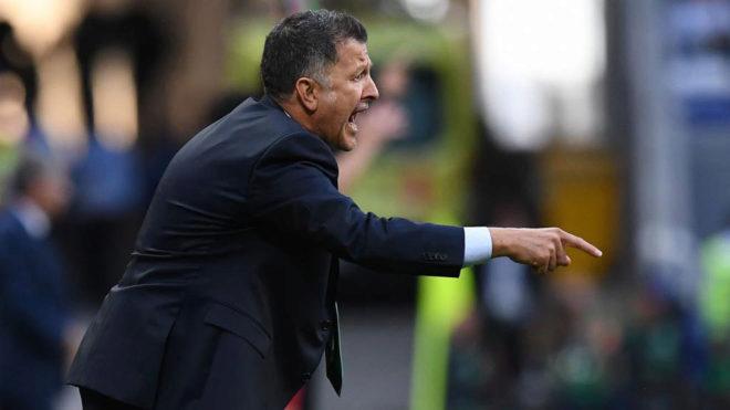 Osorio, durante el Portugal-México.