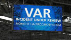 El marcador avisa del uso del VAR durante el Portugal-M�xico.