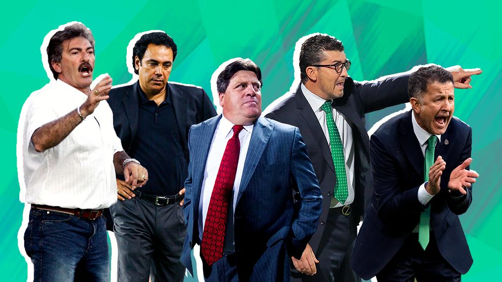 Hugo, La Volpe, Herrera, Chepo y Osorio.