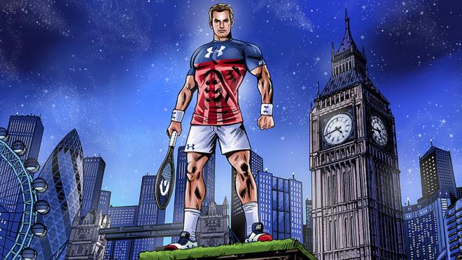 Andy Murray, un superhéroe del deporte británico