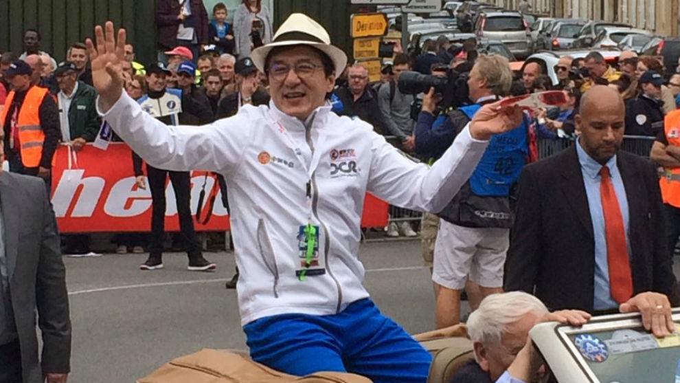 Jackie Chan, en Le Mans el año pasado