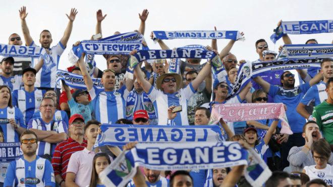 Aficionados del Leganés