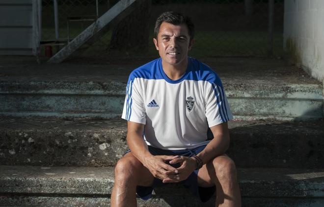 Luis Cembranos durante su etapa la pasada temporada en el Zaragoza.