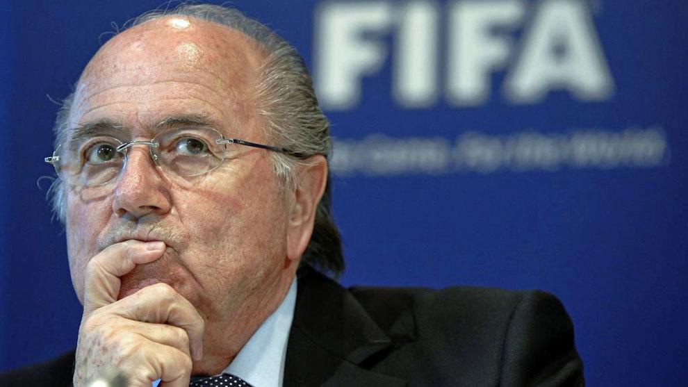 Blatter, en una imagen de archivo