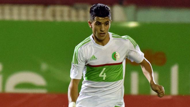 Youcef Attal, en el partido entre Argelia y Togo del 11 de junio de...