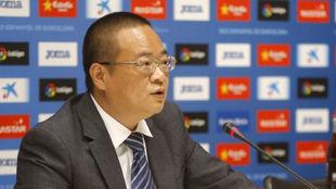 Chen Yansheng, presidente del Espanyol.