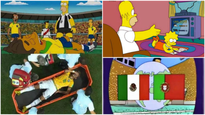 Coincidencias De Los Simpson