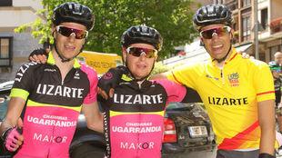 De izquierda a derecha, Jaime Castrillo, N�colas Sessler y Sergio...