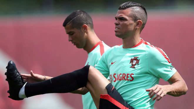 Confederation Cup Calendario.Pepe Cristiano Ronaldo Is Completely Focused On The