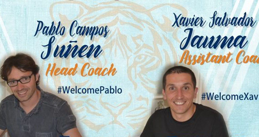 Los técnicos Pau Campos y Xavier Salvador