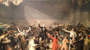 El juramento del Juego de Pelota, de Jean-Louis David