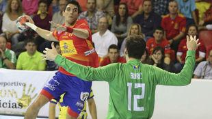 Sánchez-Migallón es el único internacional absoluto convocado para...