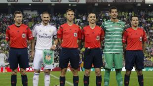 David García, junto a Benzema en el partido de Copa del Rey