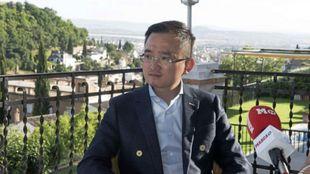 Jiang Lizhang, propietario del Granada.