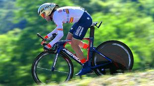 Ion Izagirre, el domingo pasado en la Vuelta a Suiza.