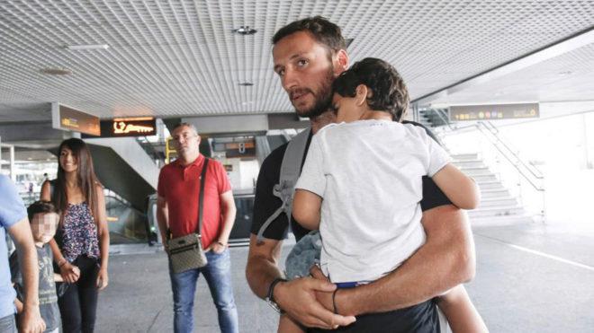 Baysse, a su llegada a Málaga