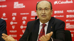 Jos� Castro, durante la rueda de prensa celebrada este jueves.