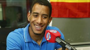 Orlando Ortega en los estudios de Radio MARCA esta semana.