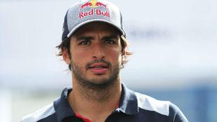 Carlos Sainz en Bakú