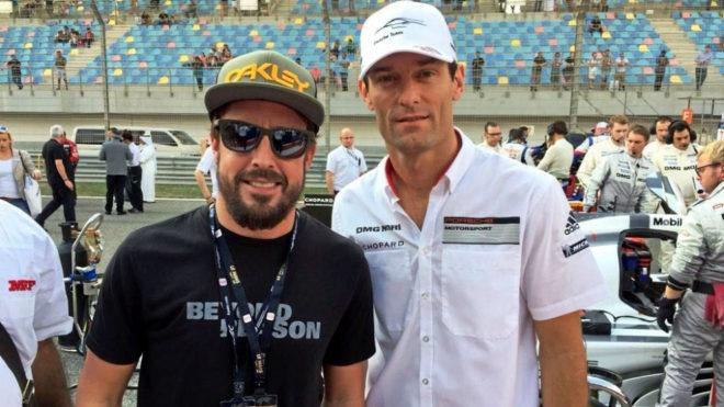 Alonso y Webber.