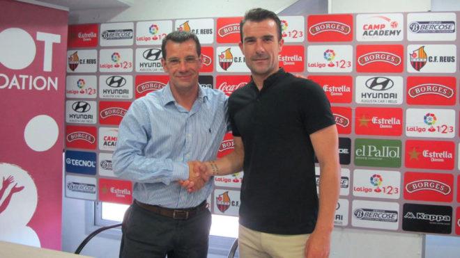 Presentación de Aritz López Garai como nuevo técnico del Reus