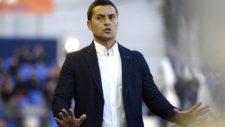 Francisco, en un partido como entrenador del UCAM Murcia.