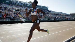 Alysia Montano, en los 800 metros de los Trials.