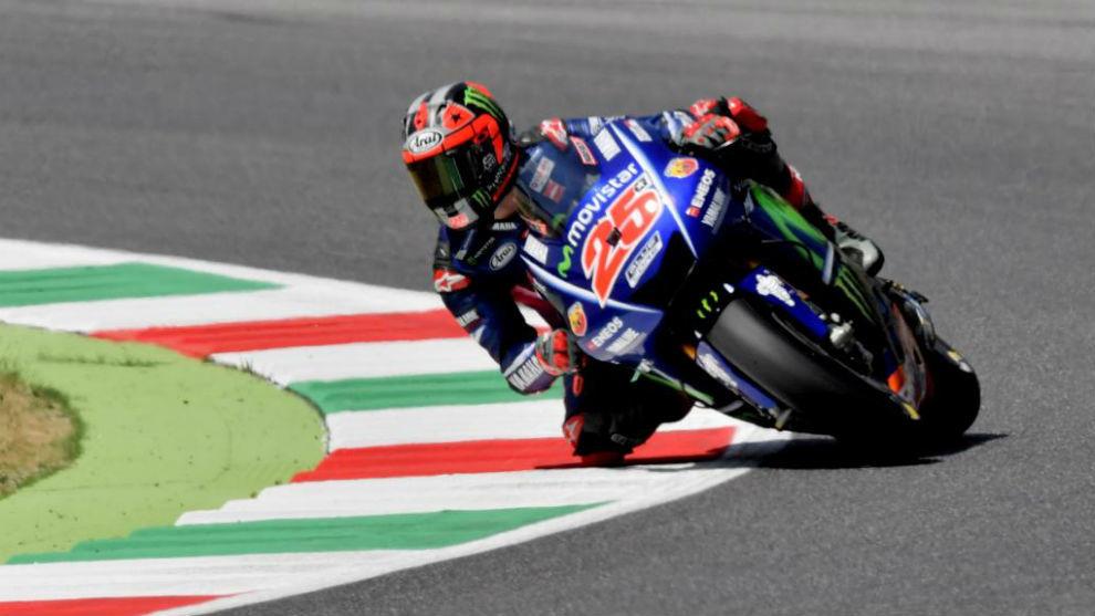 Maverick Viñales, piloto de Yamaha