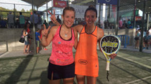 Lucía Martínez y Carla Mesa, debutantes en unos cuartos de final