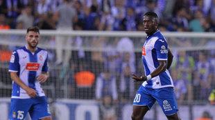 Diop con el Espanyol la pasada temporada