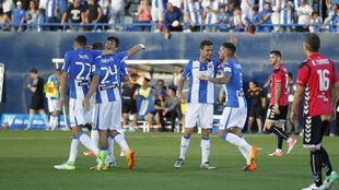 El Leganés contra el Alavés la temporada pasada