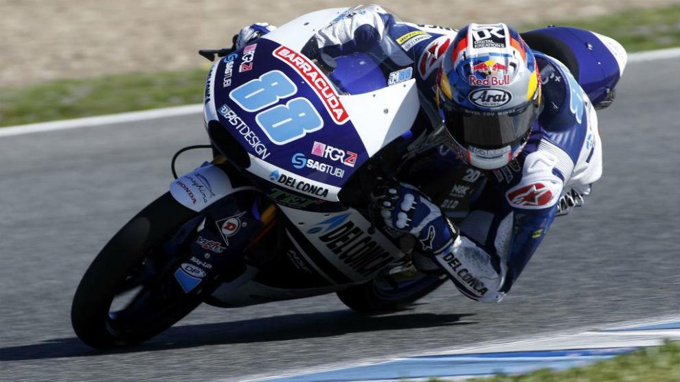 Jorge Martín, piloto español de Moto3