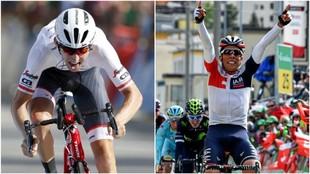Bauke Mollema y Jarlinson Pantano acompañarán a Contador en el Tour...