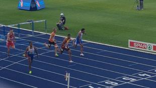 Orlando Ortega recorre los últimos metros de su prueba