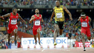 Triunfo de Bolt en Pekín (2015)