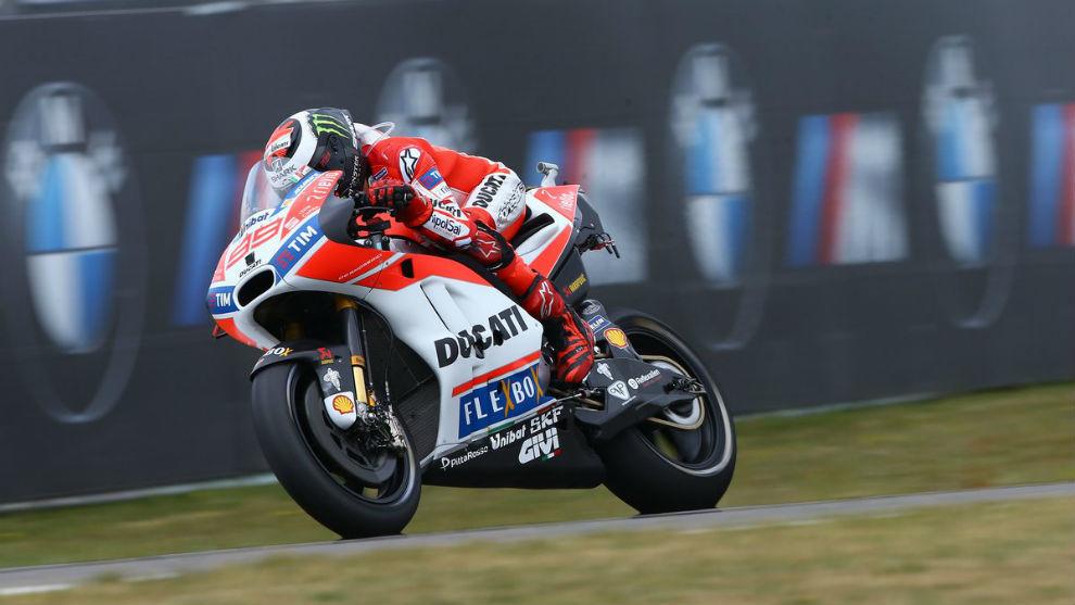 Jorge Lorenzo, piloto de Ducati