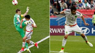 Hirving Lozano y Néstor Araujo anotaron los goles del triunfo de...