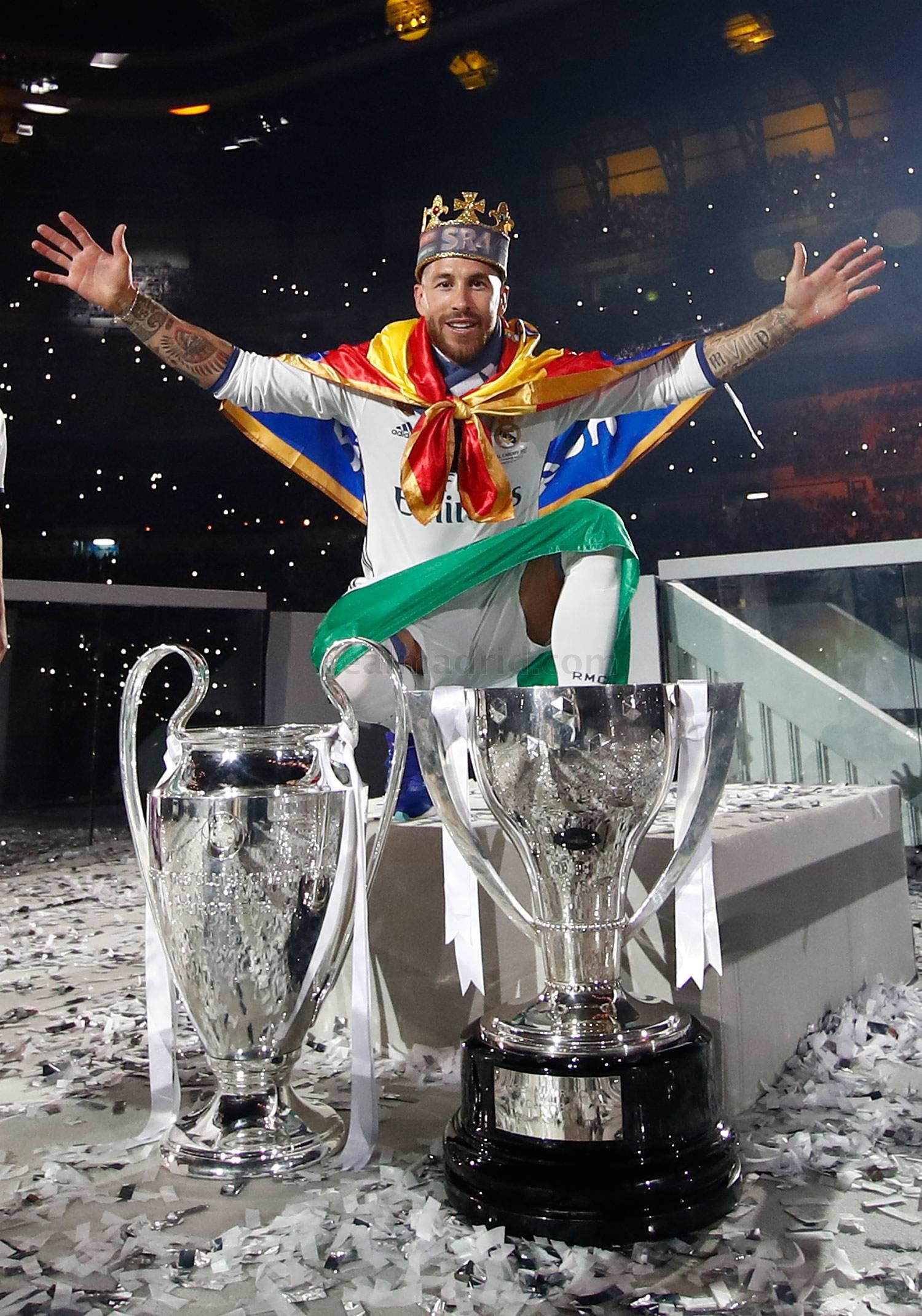Real Madrid: Sergio Ramos, capitán leyenda | Marca.com