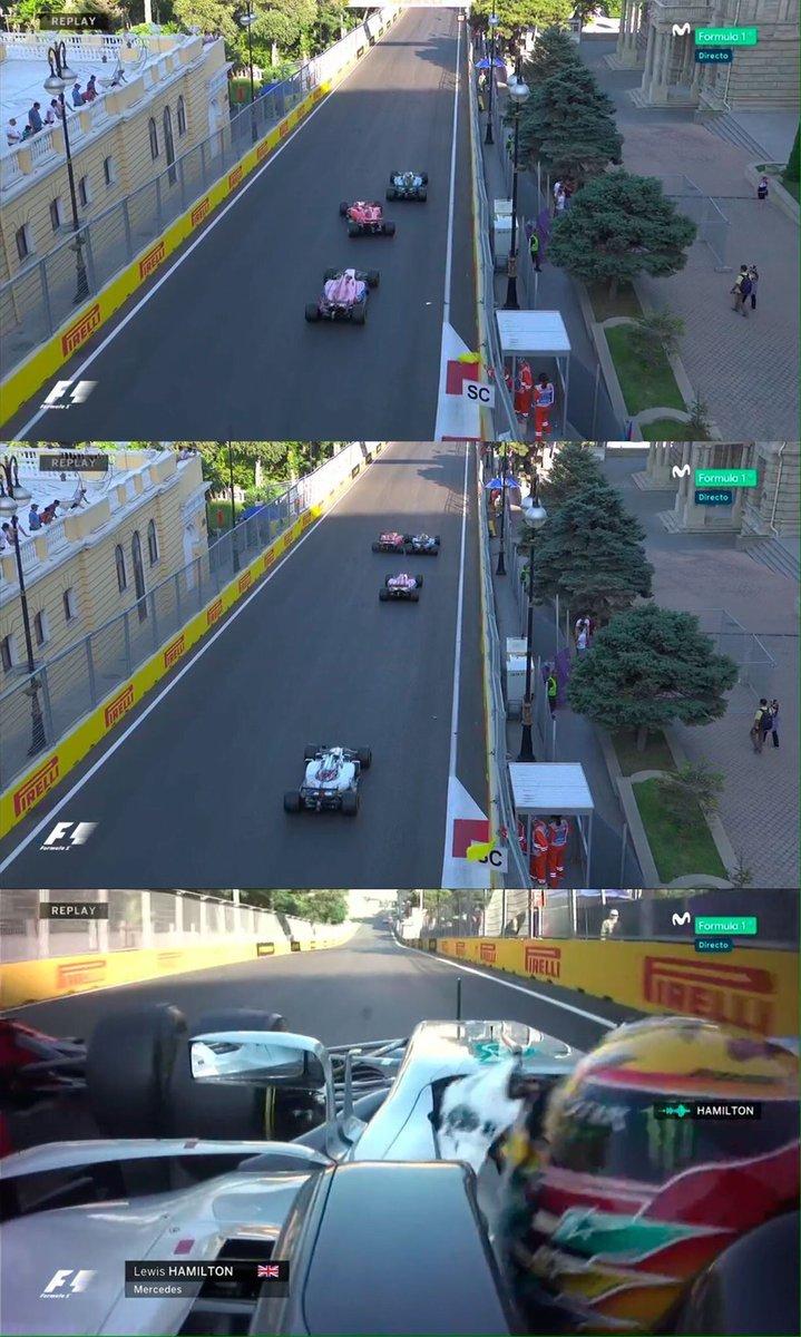 GP Europa Bakú F1 2017: Carlos Sainz y Fernando Alonso, magistrales ...