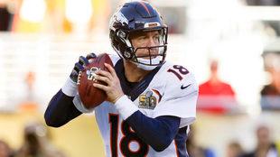 Manning, en su estancia en los Broncos de Denver.