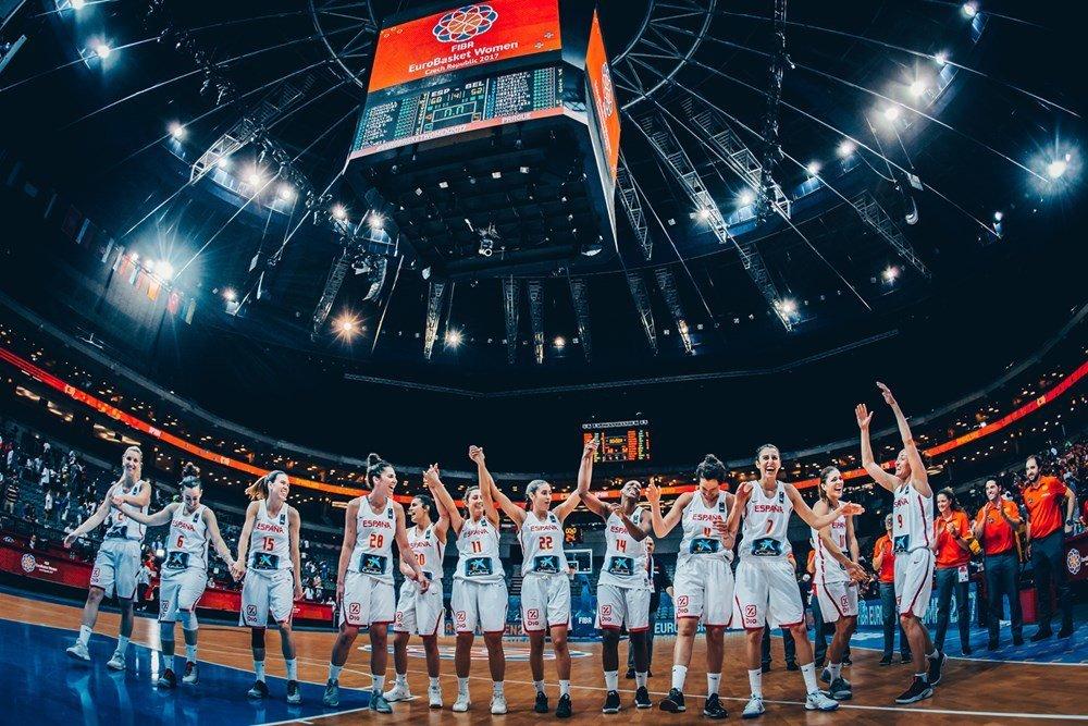 Final del Eurobasket femenino - España vs Francia