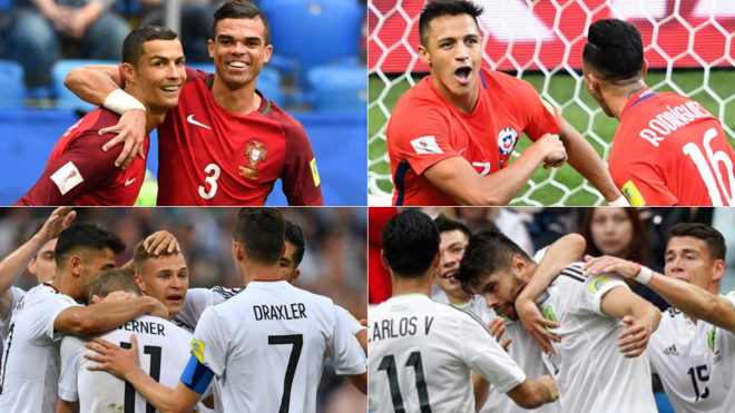 Horario y dónde ver Portugal vs Chile