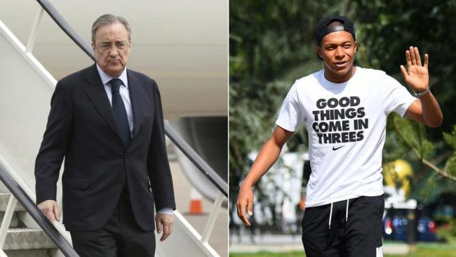 Florentino Pérez y Mbappé acercan posturas